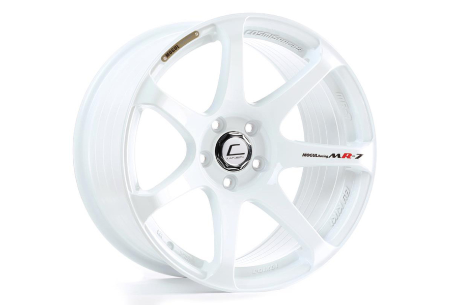 Cosmis Racing Wheels MR7 18x9 +25 5x100 White - Universal