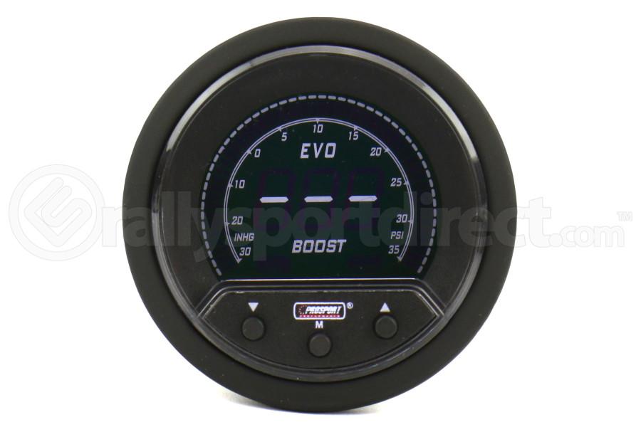 ProSport Premium Boost Gauge W/Sender 52mm (Part Number:216EVOBO-PK-R.PSI)