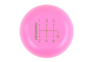 PERRIN Stainless Steel Shift Knob 6MT Large Pink Cerakote (Part Number: )