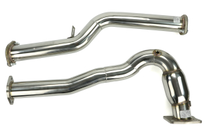 X-Force Catted 3in Stainless Steel J-Pipe ( Part Number:XFO ES-SW26-KITB)
