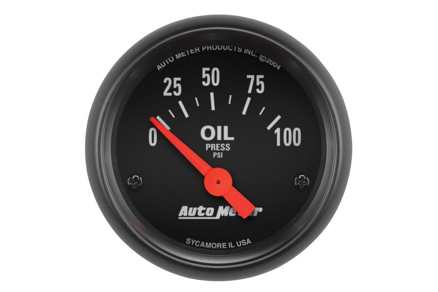Autometer Z-Series Electrical Oil Pressure Gauge 52mm - Universal