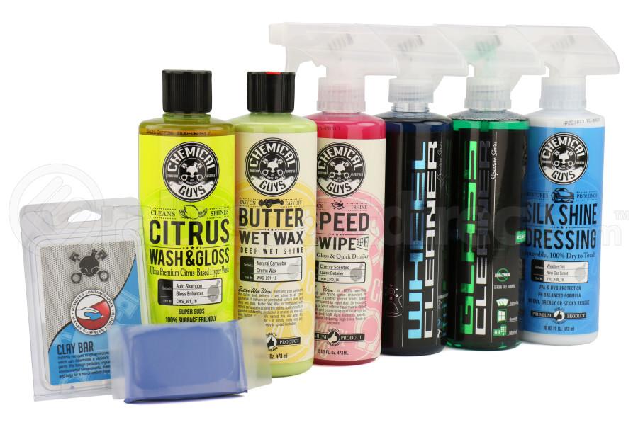Chemical Guys Starter Car Care Kit (7pc) - Universal