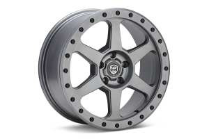 LP Aventure LP3 Wheel 17x8 +20 5x100 Matte Grey - Universal
