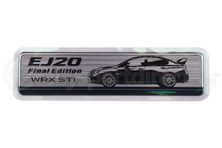 Subaru EJ20 Final Edition Anniversary Hairline Look Sticker - Universal