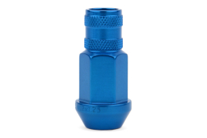 Gorilla Aluminum Open End Blue Lug Nuts 12x1.25 (Part Number: )