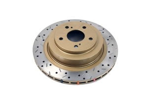 DBA 4000 Series Drilled/Slotted Rear Rotor Pair (Part Number: )