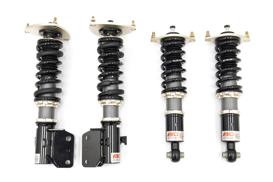 BC Racing DS Series Coilovers 16k front / 16k Rear - Subaru WRX / STI 2015 - 2017