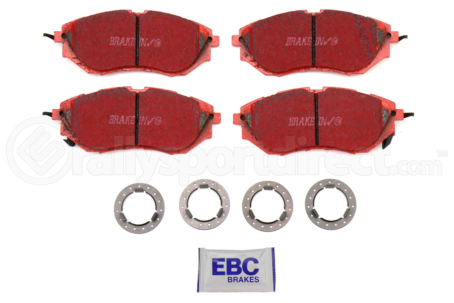EBC Brakes Redstuff Ceramic Front Brake Pads (Part Number:DP31583C)