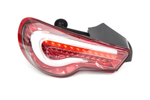 OLM VL Style Sequential Tail Lights Clear / Red - Scion FR-S 2013-2016 / Subaru BRZ 2013+ / Toyota 86 2017+