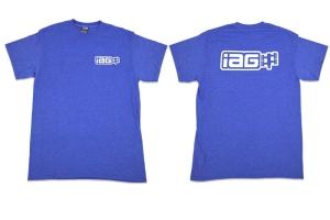 IAG Men's Boxer Logo Shirt Blue - Universal