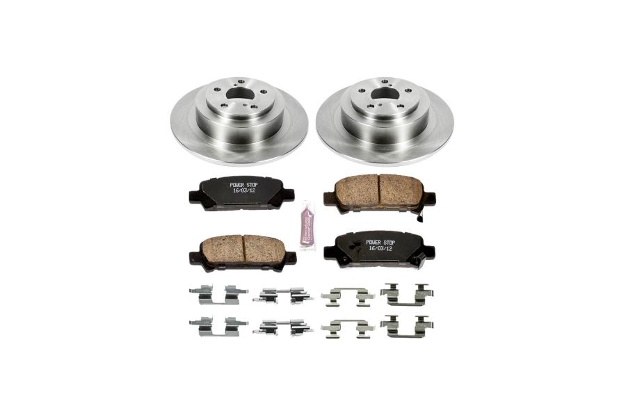 Power Stop Autospecialty Brake Kit Rear - Subaru Models (inc. 2000-2004 Legacy / Outback / 2003-2006 Baja)