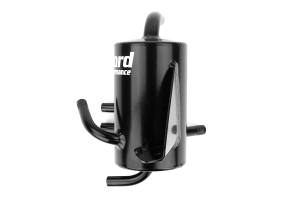 Crawford FMIC/Rotated Mount V2 Air Oil Separator Black (Part Number: )