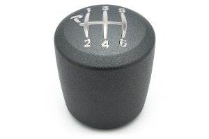 Raceseng Ashiko Big Bore Graphite Texture Shift Knob w/Engraving (Part Number: )