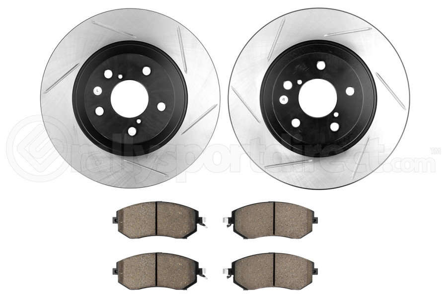 Stoptech Street Axle Pack Slotted Front (Part Number:937.47005)