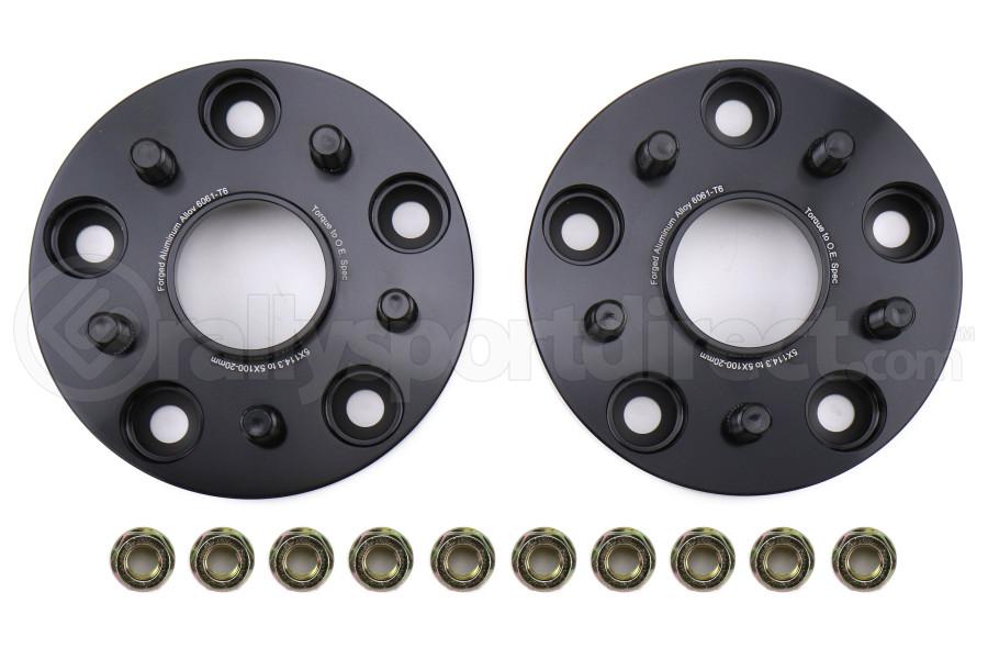 FactionFab 5x114.3 to 5x100 20mm Conversion Wheel Spacers - Subaru STI 2005+ / WRX 2015+