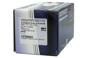 Cosworth Streetmaster Front Brake Pads (Part Number: )
