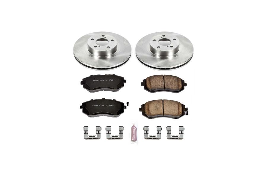 Power Stop Autospecialty Brake Kit Front - Subaru Models (inc. 2002-2010 Impreza / 2002-2004 Legacy)