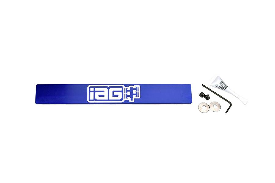 IAG Tag Delete Stealth Mount Blue - Subaru WRX / STI 2015+