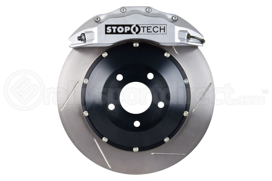 Stoptech ST-60 Big Brake Kit Front 355mm Silver Slotted Rotors (Part Number:83.838.6700.61)