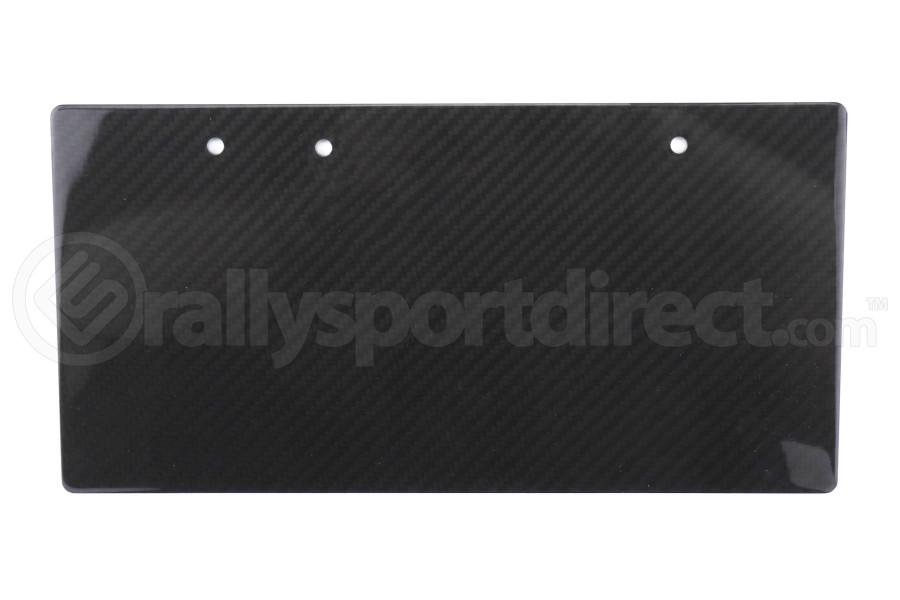 APR Carbon Fiber License Plate Blank - Universal