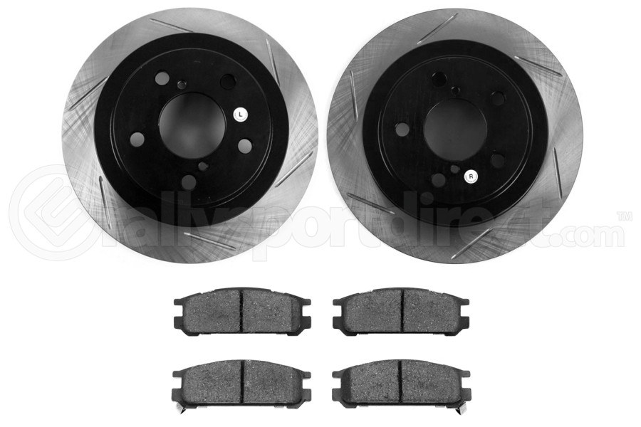 Stoptech Street Axle Pack Slotted Rear ( Part Number:STP 937.47506)