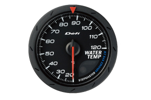 Defi Advance CR Water Temperature Gauge 60mm (Part Number: )