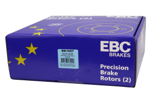 EBC Brakes Ultimax OE Style Rear Brake Rotors - Subaru STI 2004