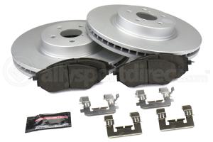 Power Stop Z17 Coated Brake Kit Front - Subaru Models (inc. 2003-2005 WRX / 2002-2005 Legacy / Outback)
