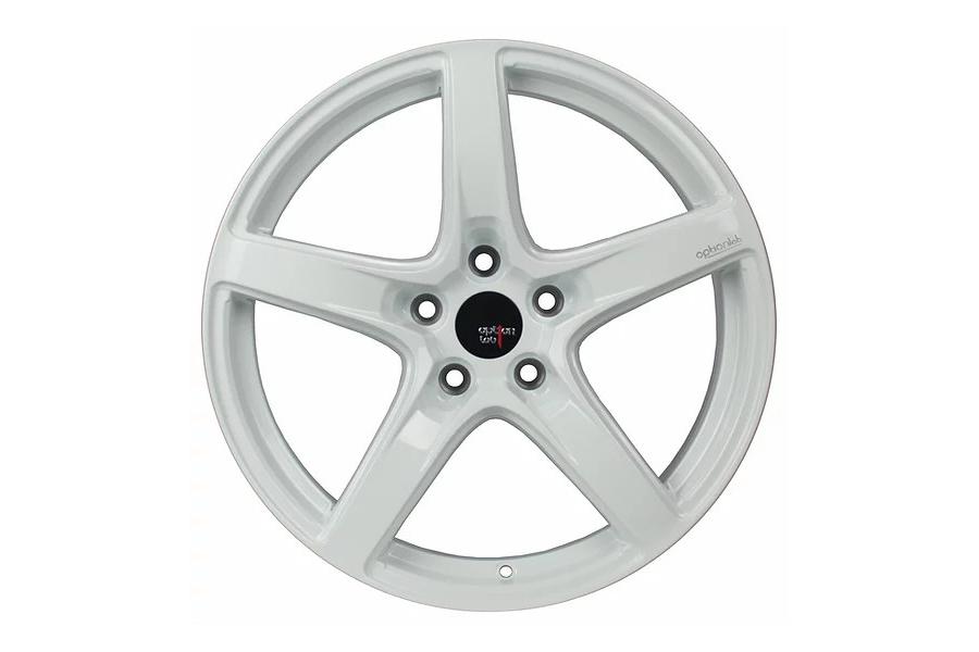 Option Lab Wheels R555 18x9.5 +38 5x114.3 Onyx White - Universal