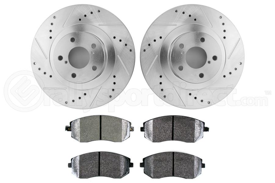 Hawk Performance Rotors w/ PC Pads Kit Front (Part Number:HK5339.432Z)