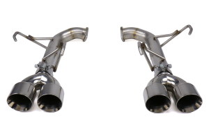 FactionFab Axle Back Exhaust w/ Polished Tips - Subaru WRX 2015-2021 / STI 2015-2018
