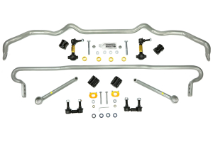 Whiteline Front and Rear Sway Bar Kit w/Endlinks (Part Number: )