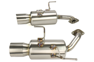 Fujitsubo Authorize S Axle Back Exhaust - Subaru Models (inc. 2015-2020 WRX / 2015-2018 STI)