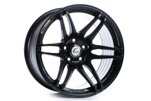 Cosmis Racing Wheels MRII 17x8 +15 6x114.3 Black - Universal