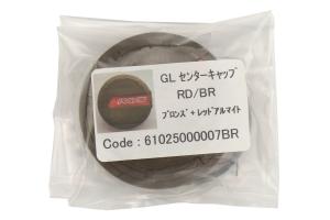 Gram Lights GL Center Cap Red / Bronze - Universal