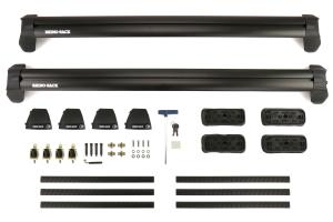 Rhino-Rack Vortex 2500 RS Black 2 Bar Roof Rack - Subaru Impreza Sedan 1993-2001