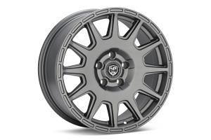LP Aventure LP1 Wheel 17X7.5 +35 5x114.3 Matte Grey - Universal