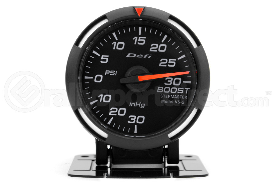Defi White Racer Boost Gauge Imperial 52mm 30 PSI (Part Number:DF06503)