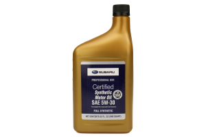 Subaru 5W30 Synthetic Engine Oil 1QT (Part Number: )