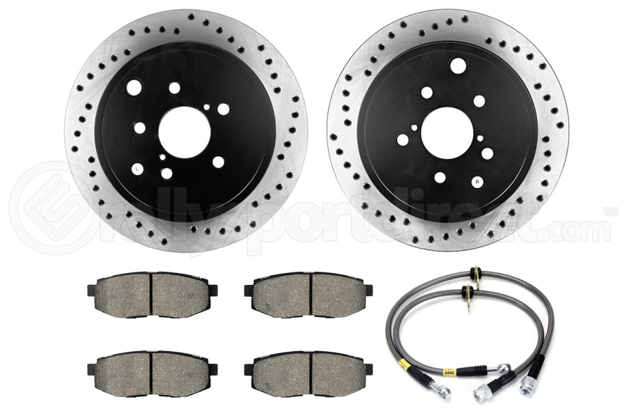 Stoptech Sport Kit Drilled Rear (Part Number:979.44016R)