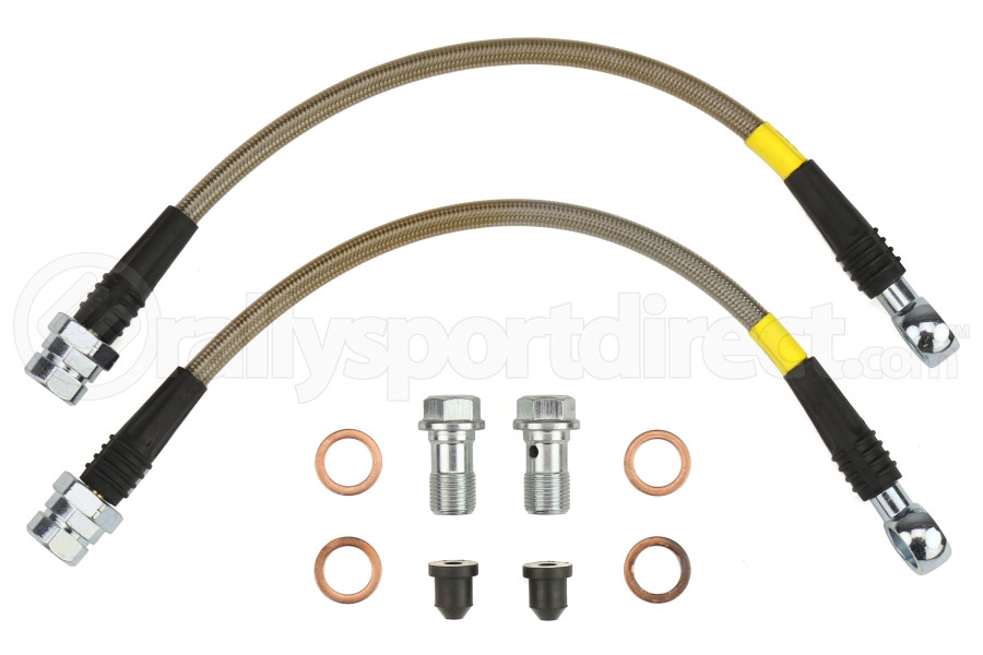Stoptech Stainless Steel Brake Lines Rear - Volkswagen GTI Non-PP 2015+