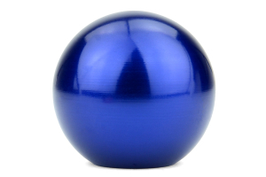 Beatrush Type-Q 45mm Aluminum Shift Knob Blue M10x1.25 (Part Number: A91012AB-Q45)