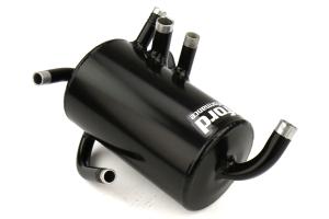 Crawford FMIC/TMIC V2 Air Oil Separator Black - Subaru Models (inc. 2008-2014 WRX / 2005-2009 Legacy GT)