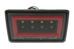 OLM NB+R F1 Rear Brake Light Clear Lens / Black Base / Red Bar - Subaru WRX / STI 2015 - 2020