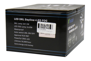 OLM Corona Ring DRL LED Fog Lights - Subaru Models (inc. 2015-2019 WRX / STI)