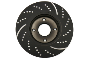 EBC Brakes 3GD Series Sport Dimpled/Slotted Front Brake Rotors - Ford Fiesta ST 2014+