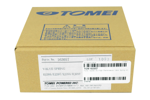 Tomei High Performance Valve Spring Set ( Part Number:TOM 163057)