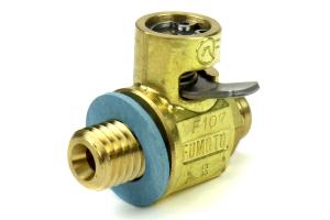 Fumoto M12-1.75 Oil Drain Valve W/Short Nipple (Part Number: )