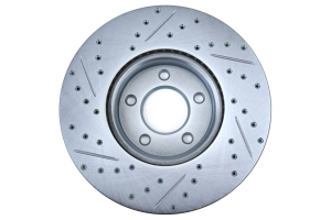 Stoptech C-Tek Sport Drilled and Slotted Front Left Rotor - Mazda 3 2007 - 2013