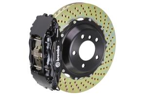 Brembo GT Systems 4 Piston Front Big Brake Kit Black Drilled Rotors - Scion FR-S 2013-2016 / Subaru BRZ 2013+ / Toyota 86 2017+